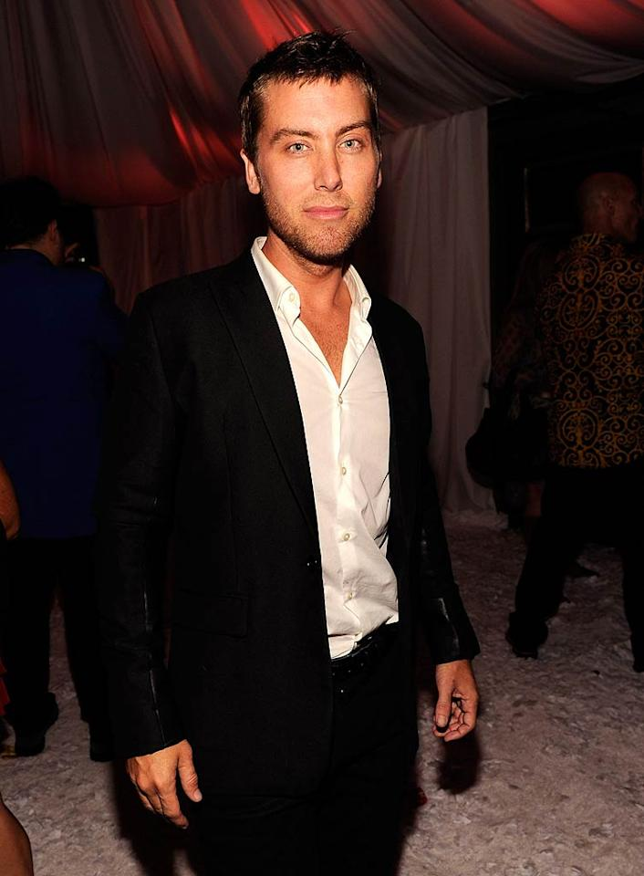 Former pop star Lance Bass also made an appearance. At 32, he was only 1 year old when the original Studio 54 closed its doors! (October 18, 2011)