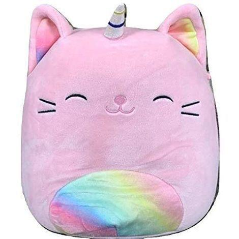 "<p><strong>Squishmallow</strong></p><p>amazon.com</p><p><strong>$15.99</strong></p><p><a href=""https://www.amazon.com/dp/B0872N69B4?tag=syn-yahoo-20&ascsubtag=%5Bartid%7C10055.g.5150%5Bsrc%7Cyahoo-us"" rel=""nofollow noopener"" target=""_blank"" data-ylk=""slk:Shop Now"" class=""link rapid-noclick-resp"">Shop Now</a></p><p>These soft and squishy friends can be anything from pillows to bedtime buddies — <strong>the insides are similar to memory foam</strong>, so it's it's fun to squeeze and re-squeeze. They also come in a<a href=""https://www.amazon.com/s?k=kellytoy+Squishmallow&ref=nb_sb_noss_2&tag=syn-yahoo-20&ascsubtag=%5Bartid%7C10055.g.5150%5Bsrc%7Cyahoo-us"" rel=""nofollow noopener"" target=""_blank"" data-ylk=""slk:host of animals and shapes"" class=""link rapid-noclick-resp""> host of animals and shapes</a>, from Christmas trees to pineapples, if tabby-cat-unicorns are not your child's preferred creature. <em>Ages 1 month+</em></p>"