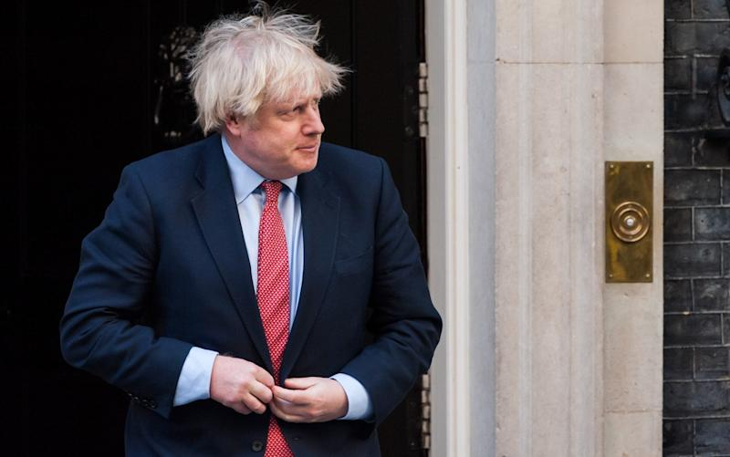 The changes come after Mr Johnson appointed Simon Case, a key aide to the Duke of Cambridge, to a top permanent secretary role running 10 Downing Street - Barcroft Media