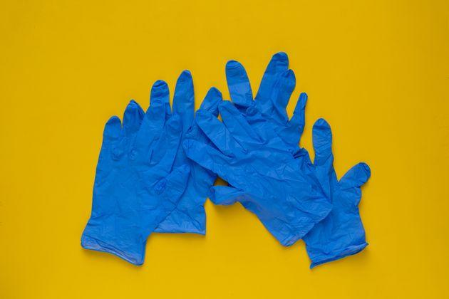 During the coronavirus pandemic, even sanitizing gloves may not be helpful for stopping the spread of germs.