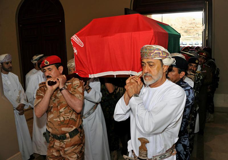 Oman's Haitham sworn in as sultan after long-time leader Qaboos dies at 79