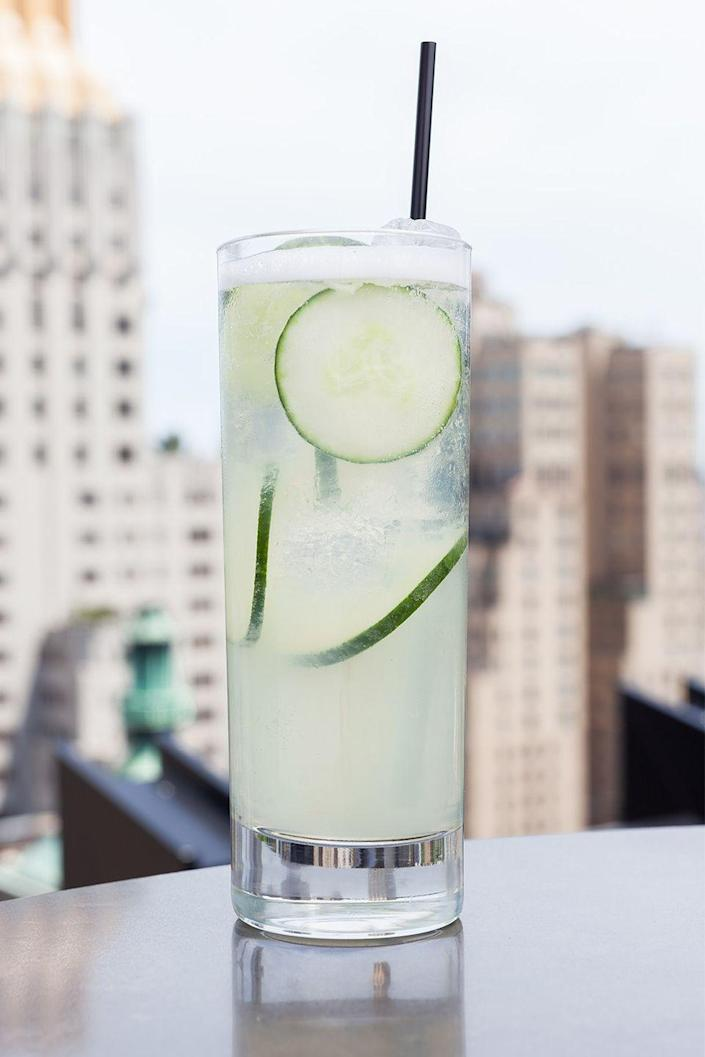 "<p>Light and crisp, this alternative lemonade is best enjoyed on a beautiful rooftop.</p><p>Get the recipe from <a href=""https://www.delish.com/cooking/recipe-ideas/recipes/a43534/rooftop-lemonade-recipe/"" rel=""nofollow noopener"" target=""_blank"" data-ylk=""slk:Delish"" class=""link rapid-noclick-resp"">Delish</a>.<br></p>"