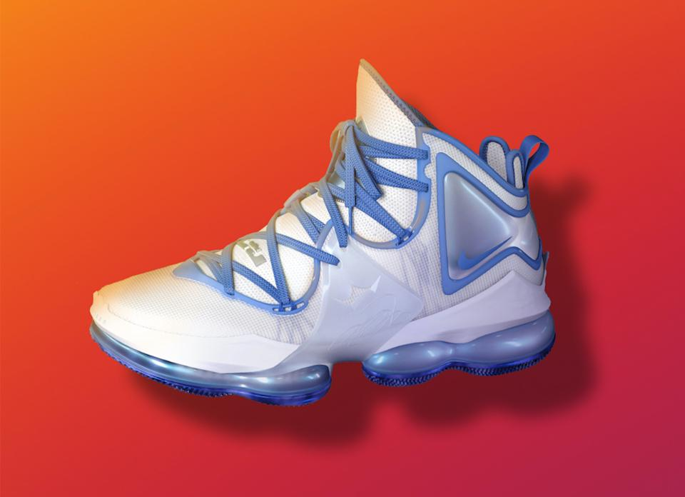 The LeBron 19 will make its big-screen debut when