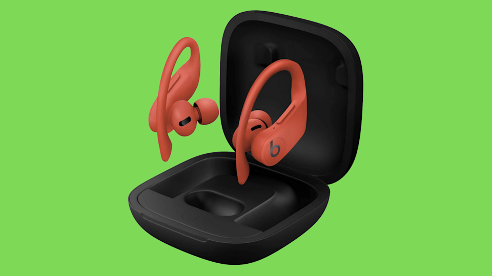Save 36 percent on these Beats Powerbeats Pros, and turn heads to boot. (Photo: Amazon)