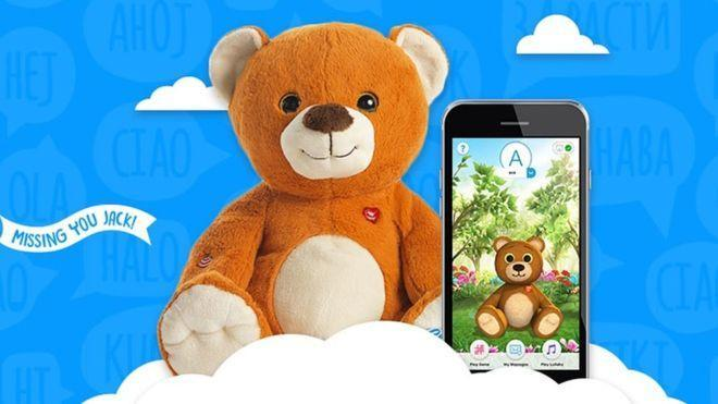 In 2018, the customer database of the CloudPets smart toy manufacturer was breached by hackers who stole information on 800,000 users. (Photo: CloudPets)