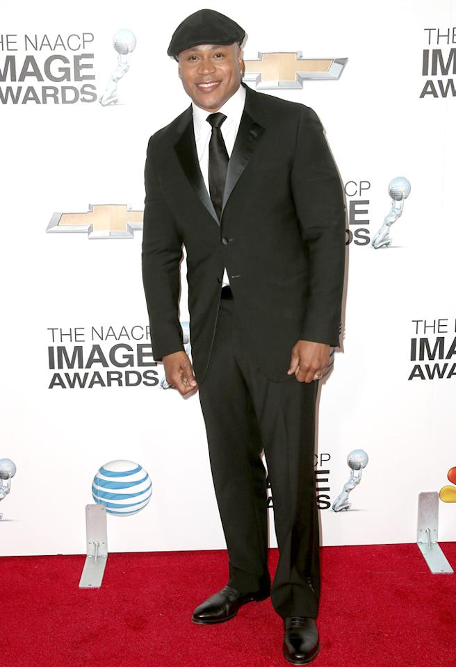 LOS ANGELES, CA - FEBRUARY 01:  Actor/recording artist LL Cool J attends the 44th NAACP Image Awards at The Shrine Auditorium on February 1, 2013 in Los Angeles, California.  (Photo by Frederick M. Brown/Getty Images for NAACP Image Awards)