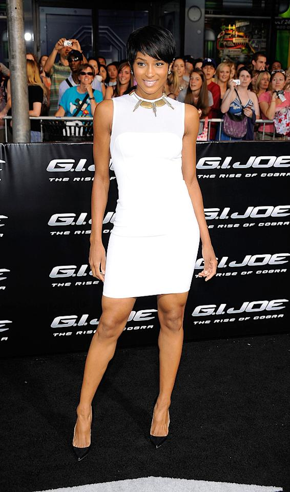 "<a href=""http://movies.yahoo.com/movie/contributor/1802074521"">Ciara</a> at the Los Angeles premiere of <a href=""http://movies.yahoo.com/movie/1809993532/info"">G.I. Joe: The Rise of Cobra</a> - 08/06/2009"