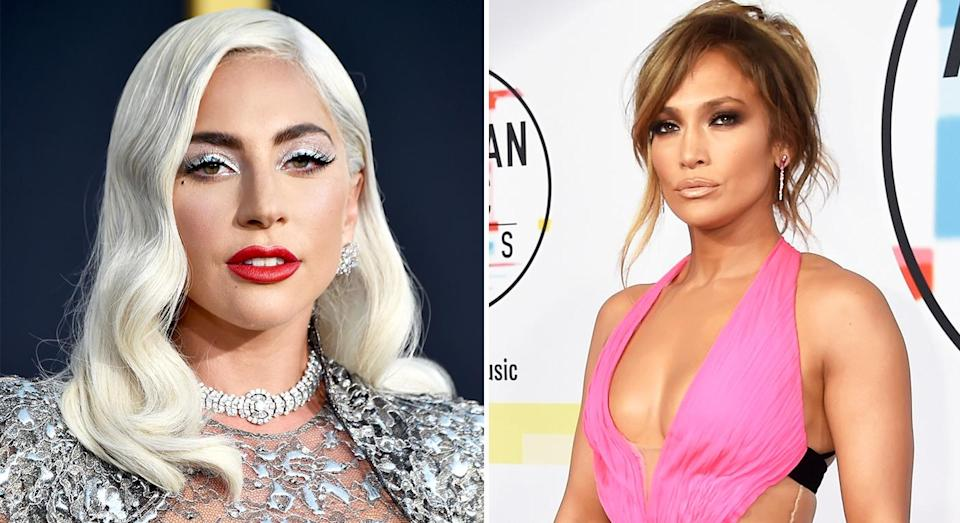 Both Jennifer Lopez and Lady Gaga have gone public about their pubic hair habits. [Photo: Getty]