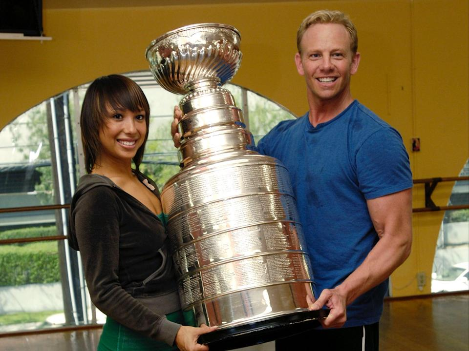 Cheryl Burke apologises for comments about Ian Ziering (Getty Images)