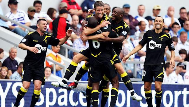 <p>Manchester United headed into the 2011/12 season as reigning champions, but it was another northern club who stole the show on the opening day.</p> <br><p>Bolton Wanderers travelled to newly promoted Queens Park Rangers on the opening day of the season, and produced a memorable performance. Bolton won 4-0 thanks to goals from Gary Cahill, Ivan Klasnic, Fabrice Muamba and Danny Gabbidon putting the ball into his own net.</p> <br><p>Remarkably, not only did Bolton's stint at the top not last beyond the first week, by game week six they found themselves bottom of the Premier League after losing their next five games.</p> <br><p>The Trotters were relegated on the final day of the season after a 2-2 draw against Stoke after needing a win, and haven't returned to the Premier League since.</p>