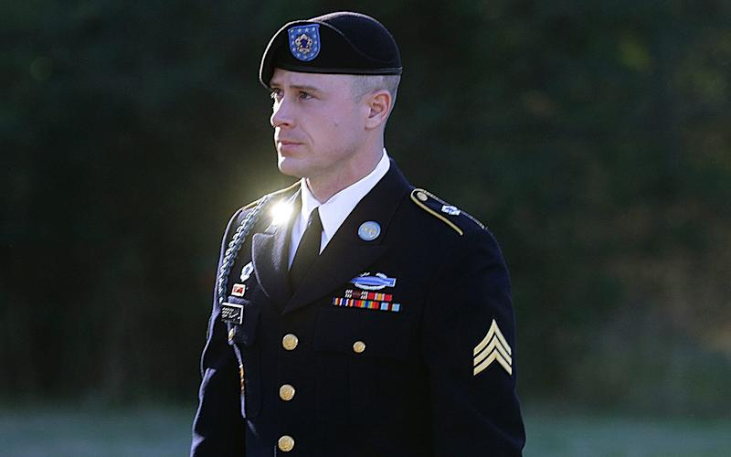 Bowe Bergdahl, pictured arriving for his January 2016 sentencing.