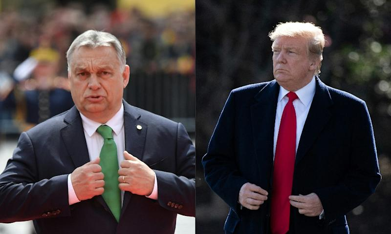 US President Donald Trump will welcome Hungarian Prime Minister Viktor Orban to the White House for talks on trade energy and cyber security