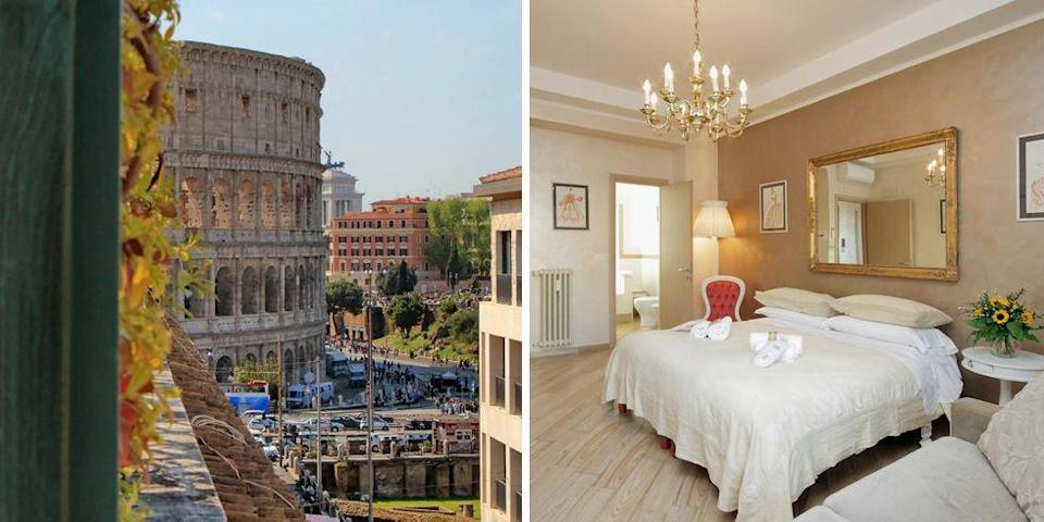 """<p>These self-catering apartments come with spacious terraces, some overlooking the Colosseum. In the heart of Rome, <a href=""""https://go.redirectingat.com?id=127X1599956&url=https%3A%2F%2Fwww.booking.com%2Fhotel%2Fit%2Frestart-accomodations-rome.en-gb.html%3Faid%3D2070929%26label%3Dtrending-summer-destinations&sref=https%3A%2F%2Fwww.redonline.co.uk%2Ftravel%2Finspiration%2Fg35851087%2Fsummer-holiday-destinations%2F"""" rel=""""nofollow noopener"""" target=""""_blank"""" data-ylk=""""slk:Restart Accommodations"""" class=""""link rapid-noclick-resp"""">Restart Accommodations</a> is walking distance from the city's most famous attraction and the Spanish Steps, as well as just moments away from transport links.</p><p><a class=""""link rapid-noclick-resp"""" href=""""https://go.redirectingat.com?id=127X1599956&url=https%3A%2F%2Fwww.booking.com%2Fhotel%2Fit%2Frestart-accomodations-rome.en-gb.html%3Faid%3D2070929%26label%3Dtrending-summer-destinations&sref=https%3A%2F%2Fwww.redonline.co.uk%2Ftravel%2Finspiration%2Fg35851087%2Fsummer-holiday-destinations%2F"""" rel=""""nofollow noopener"""" target=""""_blank"""" data-ylk=""""slk:CHECK AVAILABILITY"""">CHECK AVAILABILITY</a></p>"""