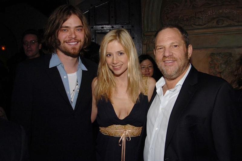 Mira, seen here with Harvey Weinstein in 2006, claimed her career was sabotaged by Weinstein after rejecting his advances. Source: Getty