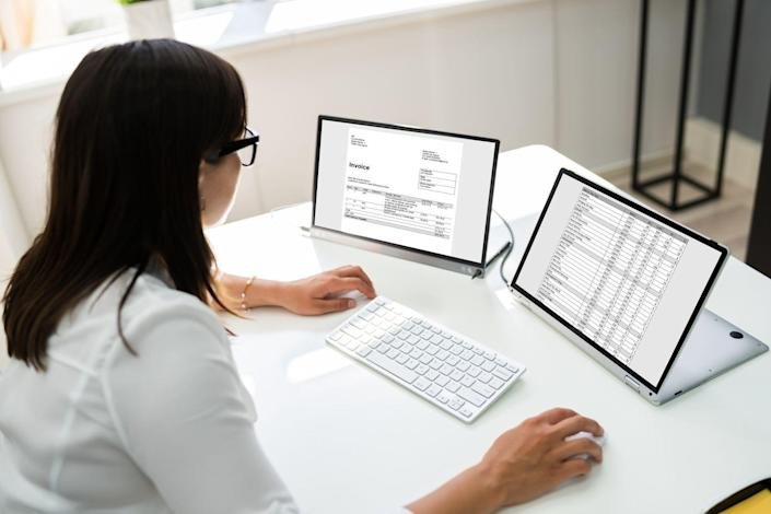 """<p>As you're figuring out your income and your expenses, you can put it all in a spreadsheet, a tool that both Simmons and Storjohann recommend. """"I use Google Sheets because you can use formulas and it automatically will let you know with a running total what you have remaining,"""" Simmons says. She also sells <a href=""""https://go.redirectingat.com?id=74968X1596630&url=https%3A%2F%2Fwww.etsy.com%2Flisting%2F928470151%2Ffinance-budget-template-budget%3Fref%3Dshop_home_feat_2&sref=https%3A%2F%2Fwww.cosmopolitan.com%2Fcareer%2Fg36331147%2Fhow-to-budget-personal-finance-tips%2F"""" rel=""""nofollow noopener"""" target=""""_blank"""" data-ylk=""""slk:budgeting spreadsheets"""" class=""""link rapid-noclick-resp"""">budgeting spreadsheets</a>, which allow users to plug in their income and expenses, and track their finances. </p>"""