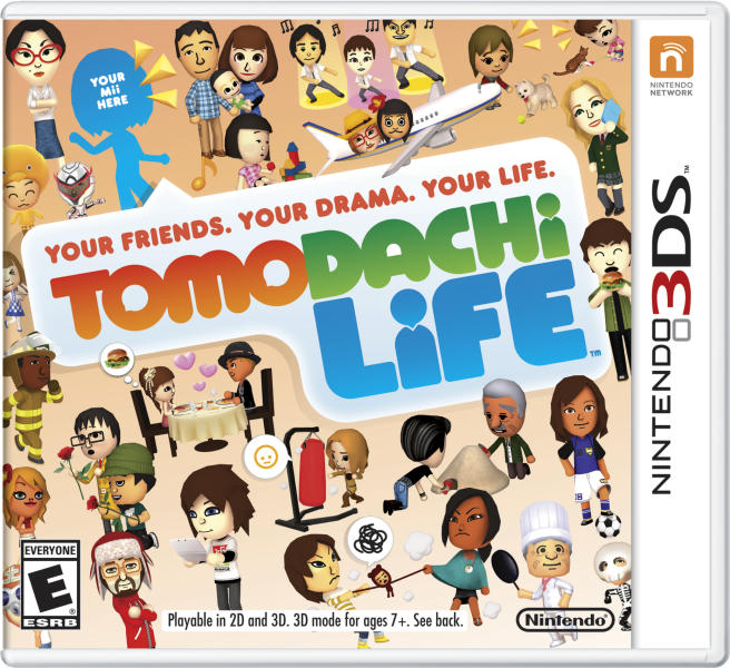 """This photo provided by Nintendo shows the cover of the video game, """"Tomodachi Life."""" The gaming company said Tuesday, May 6, 2014, it wouldn't bow to pressure to allow players to engage in romantic entanglements with characters of the same sex in the English version of """"Tomodachi Life"""" following a social media campaign launched last month seeking virtual equality for the game's characters, which are modeled after real people. (AP Photo/Nintendo)"""