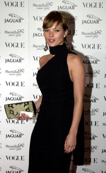 <p>Of course supermodel Kate Moss can pull off any hairstyle, including this uber short style, we mean, just check out those cheekbones.<i> [Photo: Getty]</i></p>