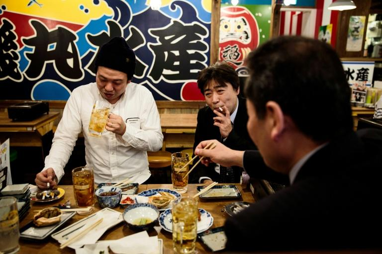 In Japan smoking is still allowed in most bars, restaurants and cafes and many owners fear a ban would lead to losing customers