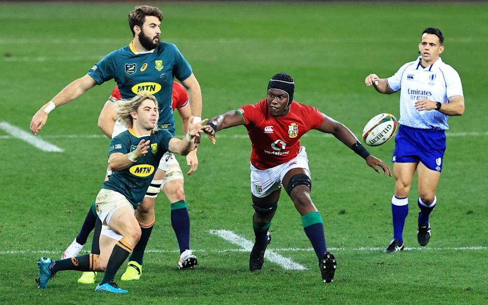 Maro Itoje. - GETTY IMAGES