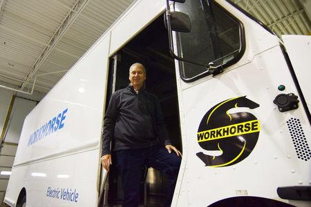 Burns, CEO of Workhorse an electric delivery vehicle manufacturer in Loveland