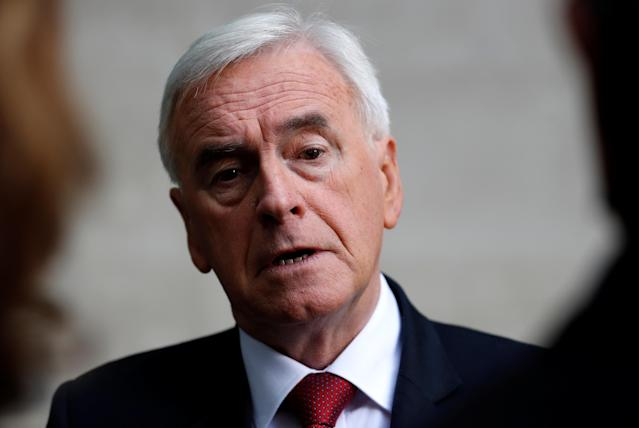 Mr McDonnell was said to be taking charge of several aspects of the Labour leadership. (Reuters)