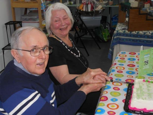 Charles MacDonald, shown with his wife, Sharon, died Sunday at the age of 83. (Submitted by Diane MacLean - image credit)