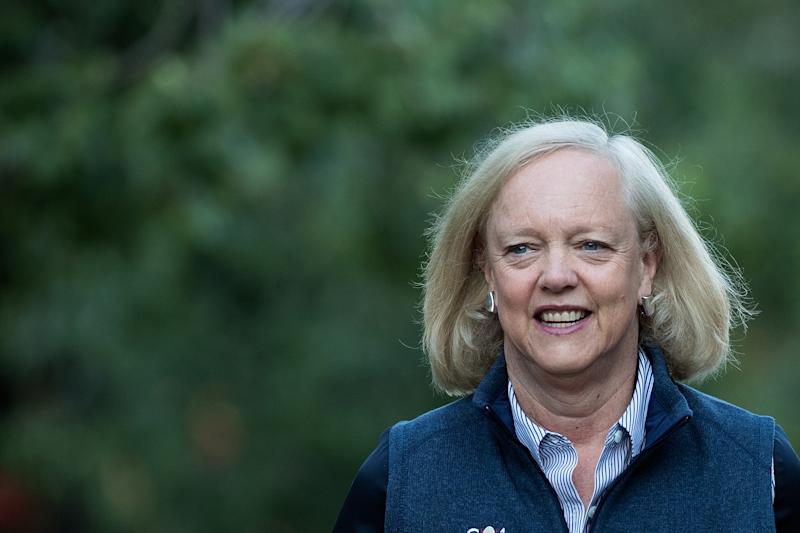 HP CEO Meg Whitman Announces She'll Step Down in 2018