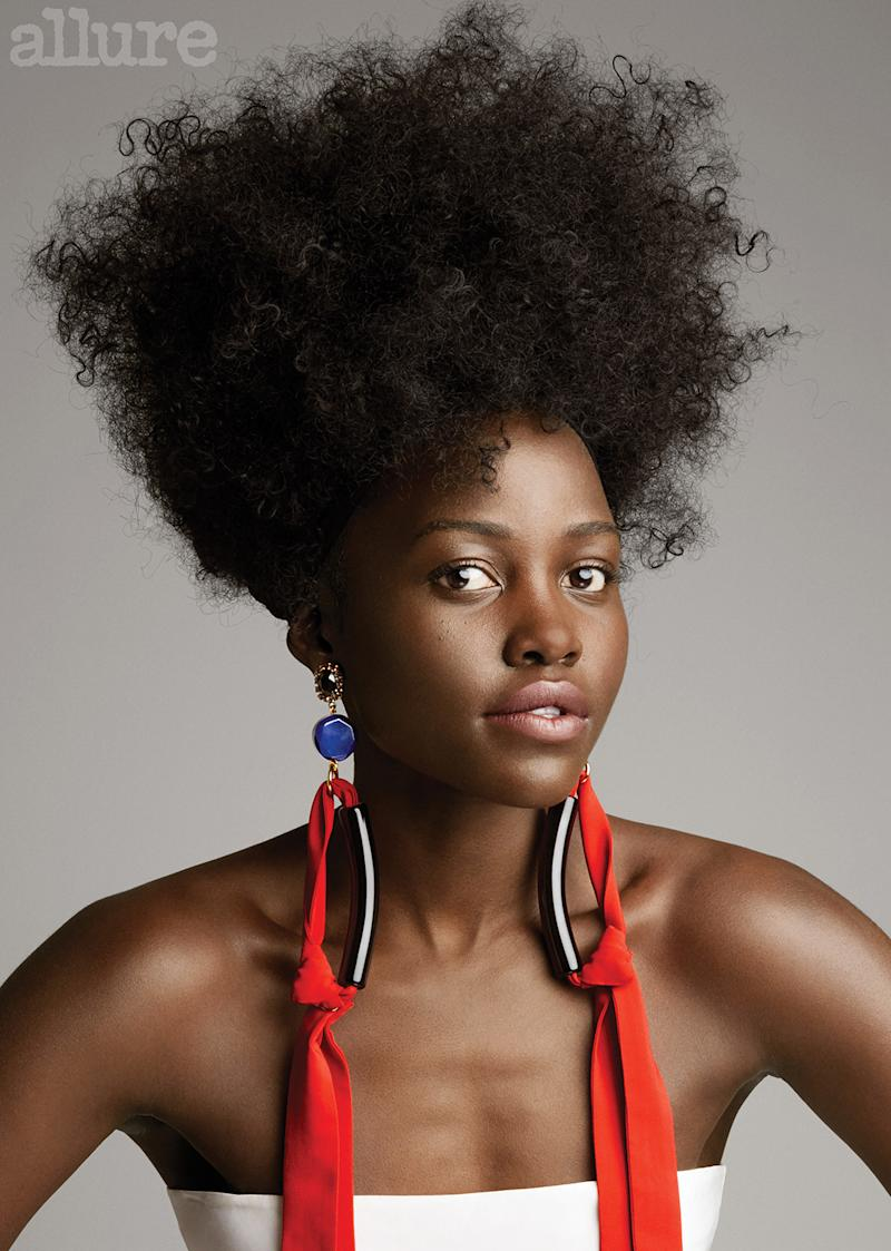 Lupita Nyongo Opens Up About Her Natural Hair Journey
