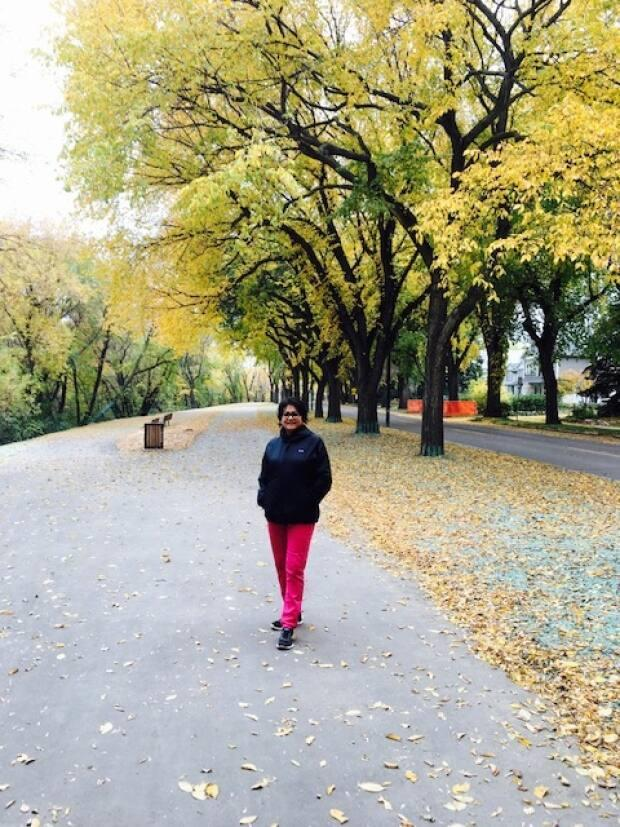 Frances Sreedhar initially aimed to walk 1,000,000 steps by the end of March 2021.