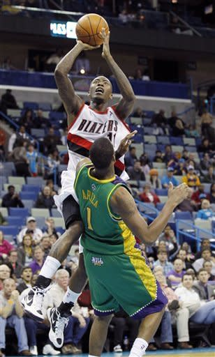 Crawford leads Trail Blazers past Hornets, 94-86
