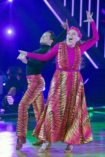 PHOTO: 'Dancing with the Stars' stars Pasha Pashkov and Carole Baskin. (Eric Mccandless/ABC)