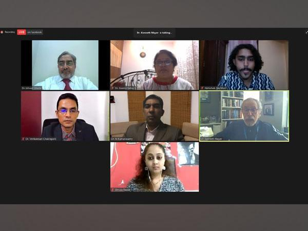 Panelists at the 'PrEP-ing India - Update on HIV Pre-exposure Prophylaxis and Way Forward' Event