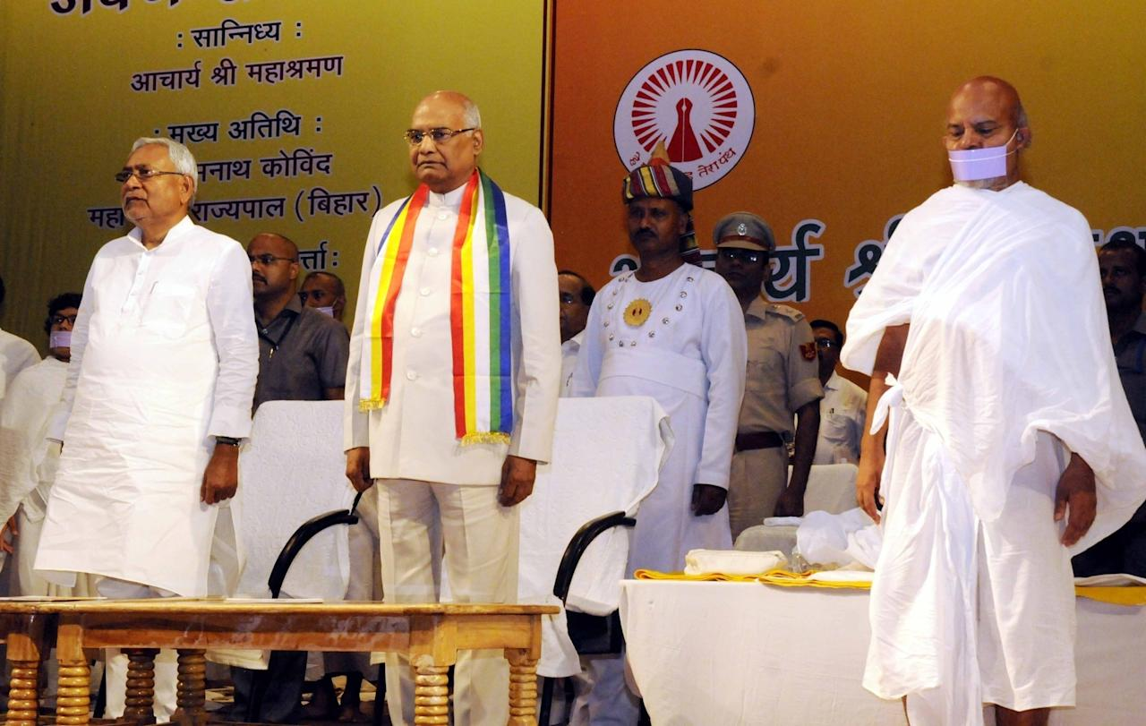 <p>Bihar Governor Ram Nath Kovind, NDA's nominee for the Presidential elections, was born on October 1, 1945 in Kanpur Dehat, Uttar Pradesh. </p>