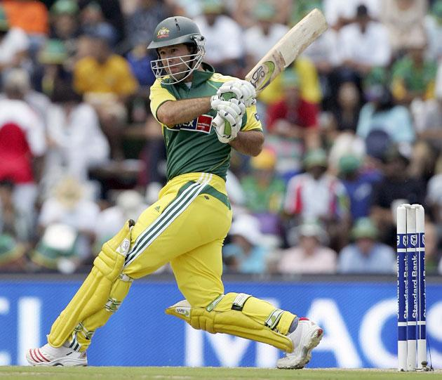 JOHANNESBURG, SOUTH AFRICA - MARCH 12:  Ricky Ponting of Australia in action during the fifth One Day International between South Africa and Australia played at Wanderers Stadium on March 12, 2006 in Johannesburg, South Africa.  (Photo by Hamish Blair/Getty Images)
