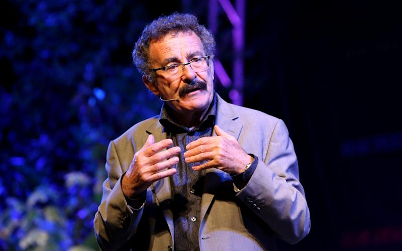 Professor, medical doctor, scientist, and television presenter Lord Robert Winston speaks on the Tata stage on the seventh day of the annual Hay Festival in Hay-on-Wye - Clara Molden