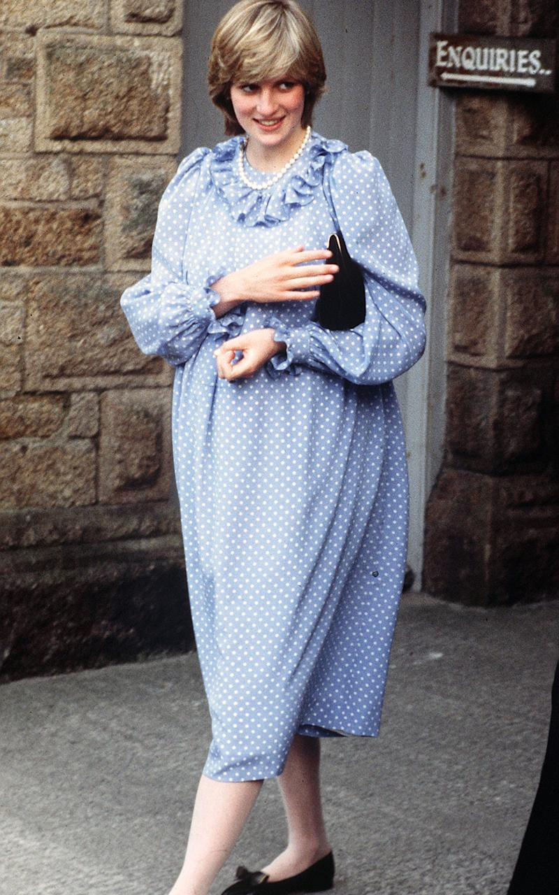 Princess Diana pregnant - Getty Images