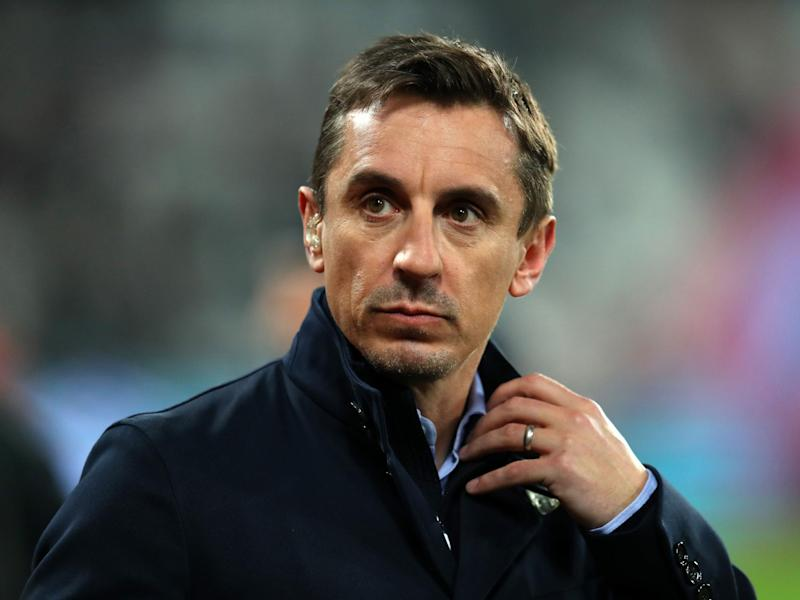 Former Manchester United defender Gary Neville: Getty Images