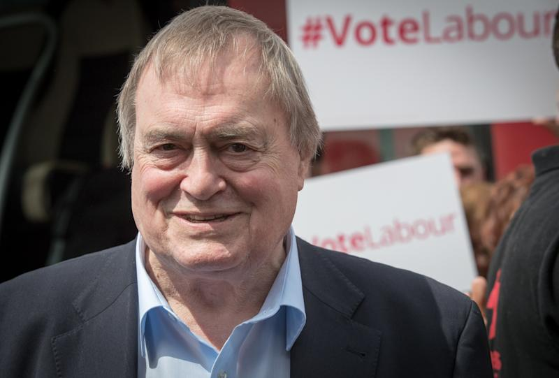 Lord Prescott has been admitted to hospital (Picture: Getty Images)