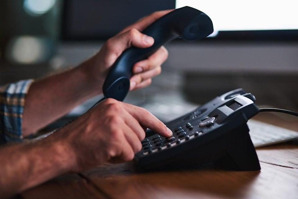 The frustrated employee made repeated efforts to record the voice message (Getty Images/iStockphoto)