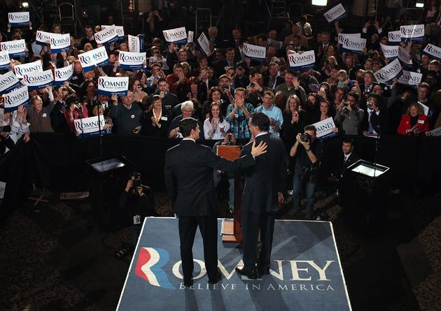 Romney picks Paul Ryan as VP running mate