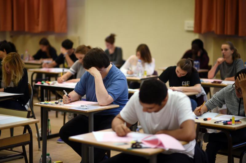 Examen. AFP Foto / MARTIN BUREAU / Getty Images