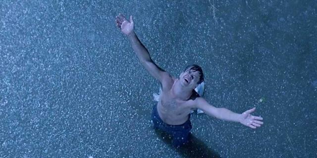 Tim Robbins in The Shawshank Redemption (Photo: Rex Features)