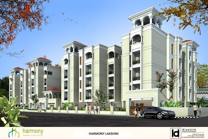 Unmatched Quality. Chic Lifestyle.Welcome to Harmony's Lakshmi residential apartments