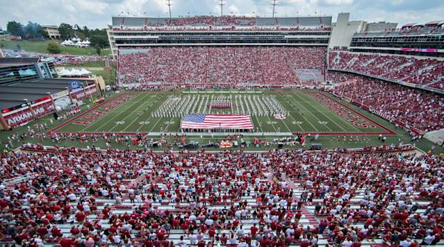 The Arkansas House of Representatives passed on Thursday the SB724 bill banning guns from athletic stadiums.
