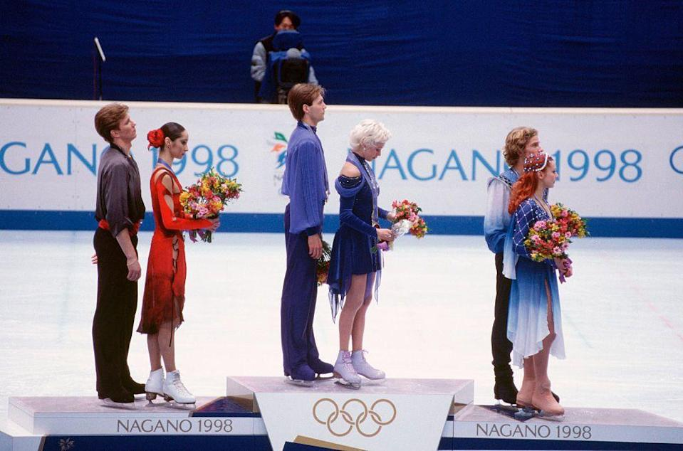 """<p>When a 1998 ice dancing judge was caught on video attempting to rig the results, the integrity of the entire sport came under fire. <a href=""""https://archive.macleans.ca/article/1998/3/2/dirty-dancing"""" rel=""""nofollow noopener"""" target=""""_blank"""" data-ylk=""""slk:IOC Vice President Dick Pound publicly expressed his disappointment at the blatant cheating"""" class=""""link rapid-noclick-resp"""">IOC Vice President Dick Pound publicly expressed his disappointment at the blatant cheating</a>, and urged the sport to be removed from the Olympics unless its reputation changed.</p>"""