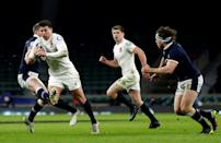 Scotland fly-half Finn Russell's trip on England scrum-half Ben Youngs earned 10 minutes in the sin bin