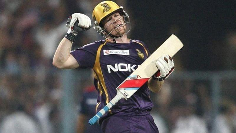 Eoin Morgan was purchased for Rs 5.25 crore at the auction by Kolkata Knight Riders