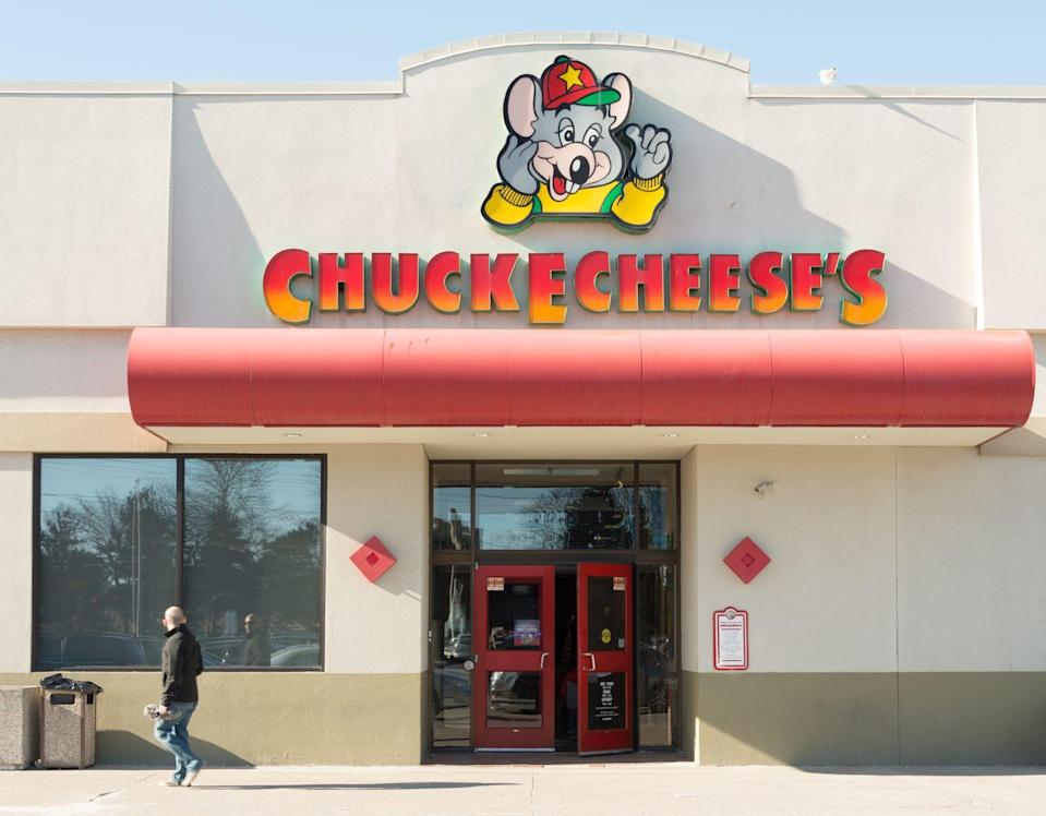 <p>In the 1990s, the company went through a major rebrand. In the end, they dropped Pizza Time Theater and decided to simply go by Chuck E. Cheese's. </p>
