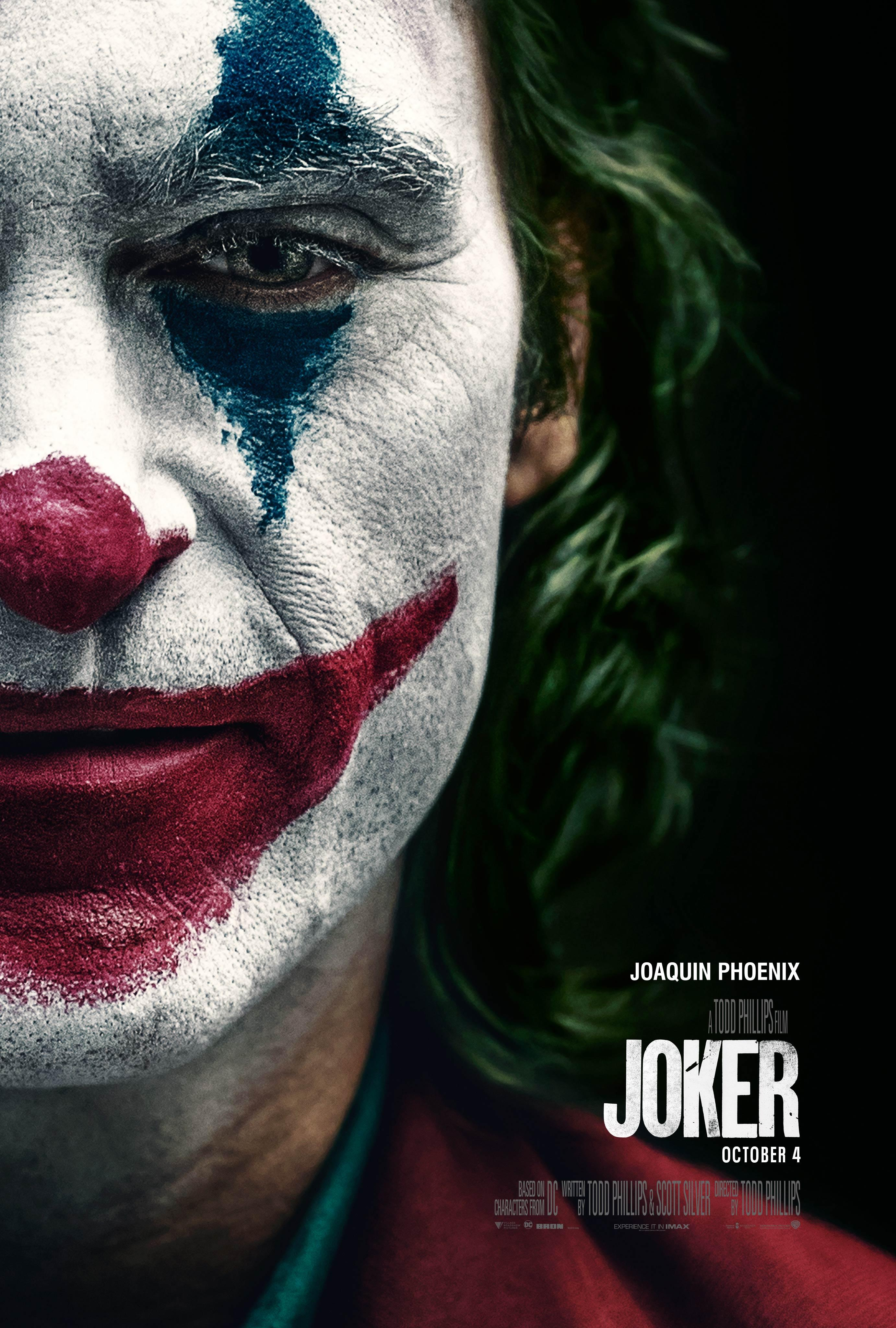 The final poster for Joker. (Warner Bros.)