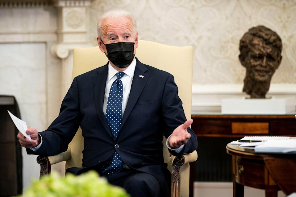 Joe Biden campaigned promising to seek Republican support for his agenda (Getty Images)